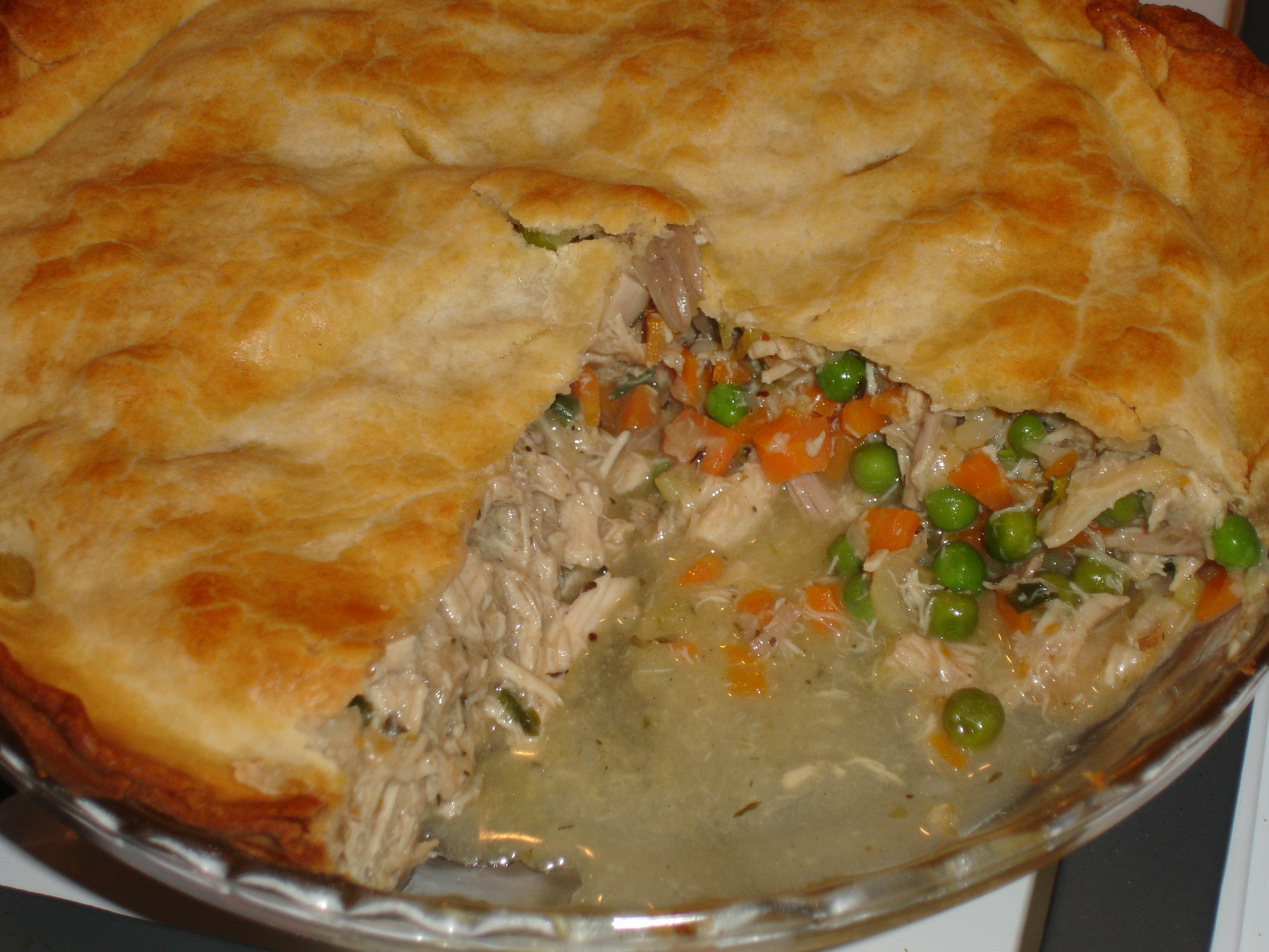 Home-Made Chicken Pot Pie |