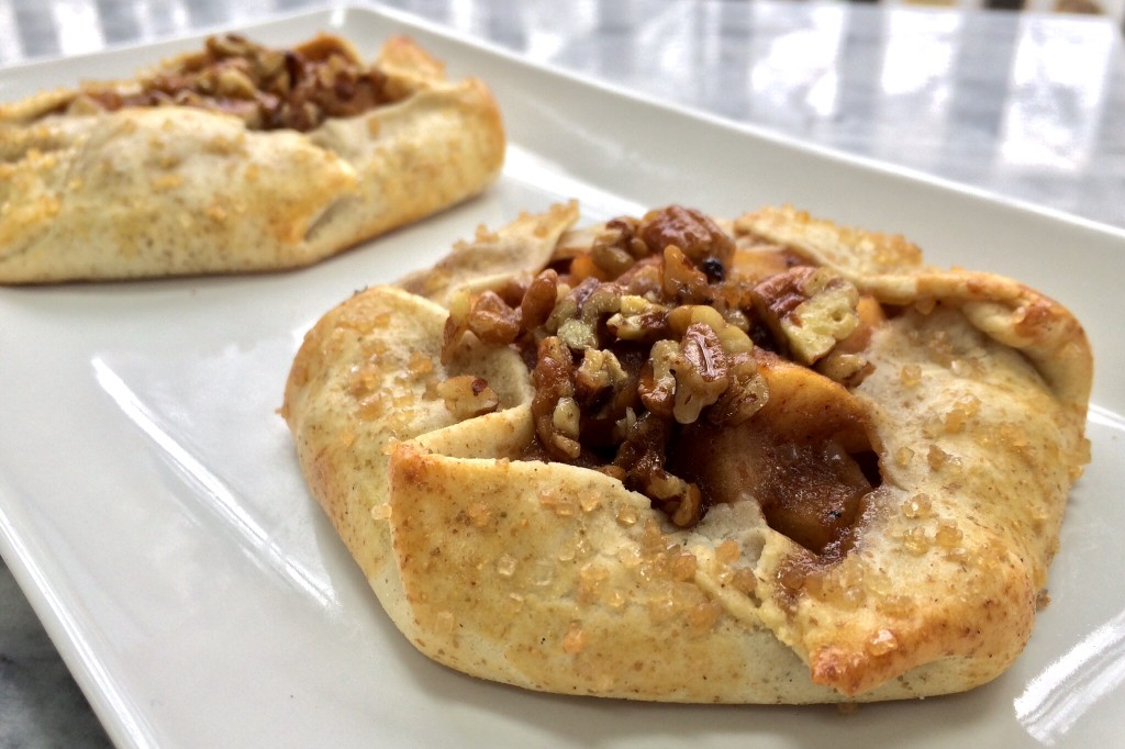 Apple Tarts with Candied Pecans